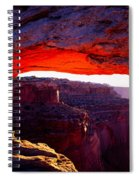 Mesa Arch Sunrise 2 Spiral Notebook