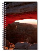 Mesa Arch Sunrise Spiral Notebook