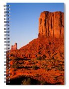 Monument Valley Sunset Spiral Notebook