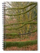 Moss-covered Big Leaf Maple Branches Spiral Notebook