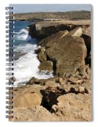 Natural Bridge Oranjestad Aruba Spiral Notebook
