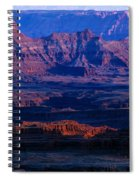 Needles Overlook  Spiral Notebook