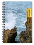 Negril Sea Splash Spiral Notebook