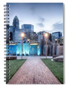 New Romare-bearden Park In Uptown Charlotte North Carolina Earl Spiral Notebook
