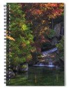 Nishinomiya Japanese Garden - Waterfall Spiral Notebook