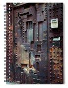 Nyc Designer's Dungeon Door Spiral Notebook