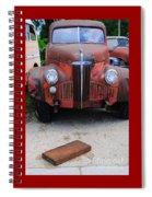 Old Old Car Spiral Notebook