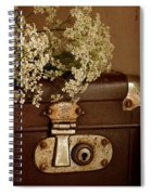 Old Suitcase Spiral Notebook