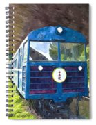 Old Train Spiral Notebook