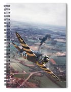 P47- D-day Train Busters Spiral Notebook