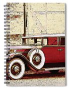 Packard Standard Eight Convertible Spiral Notebook