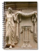 Palace Of Fine Art Relief  Spiral Notebook