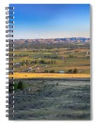 Panoramic Emmett Valley Spiral Notebook