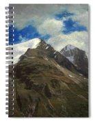 Peaks In The Rockies Spiral Notebook