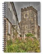Plaxtol Church And Church Row Spiral Notebook