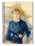 Portrait Of Louise Riesener Spiral Notebook