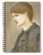 Portrait Of Mrs William J Stillman Nee Marie Spartali Spiral Notebook