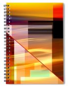 Red Desert Cosmopolis Spiral Notebook