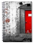 Red Door Perception Spiral Notebook