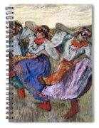 Russian Dancers Spiral Notebook