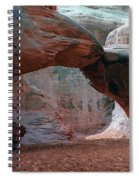 Sand Dune Arch - Arches National Park Spiral Notebook