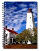 Sandy Hook Light Spiral Notebook