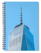 Scenery Near World Trade Center In New York C Spiral Notebook