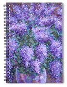 Scented Lilacs Bouquet Spiral Notebook