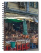 Seafood Shop Spiral Notebook