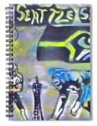 Seattle Seahawks Superbowl  Spiral Notebook
