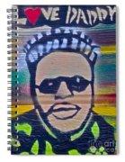 Senor Love Daddy Spiral Notebook