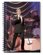 Singer Michael Buble Spiral Notebook