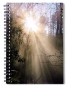 Sunrise Of Faith Spiral Notebook