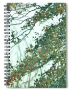 Spring Drops Spiral Notebook