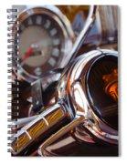 Steering Mercury Spiral Notebook