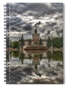 Stone Flower Moscow Spiral Notebook