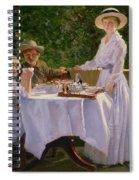 Summer Afternoon Tea Spiral Notebook