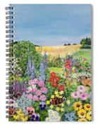 Summer From The Four Seasons Spiral Notebook