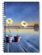 Summer Morning Magic Spiral Notebook