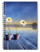Summer Morning Magic Spiral Notebook