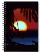 Sun Fusion Spiral Notebook