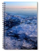 Superior Winter   Spiral Notebook