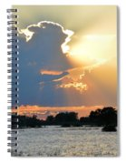 Swallowing The Sun Spiral Notebook