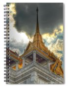 Temple Roof Spiral Notebook