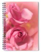 Tenderness Pink Roses 1 Spiral Notebook