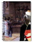 Thai Ridgeback Art Canvas Print Spiral Notebook