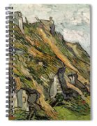 Thatched Cottages In Chaponval Spiral Notebook