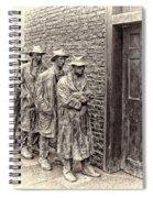 The Bread Line Sculpture Spiral Notebook