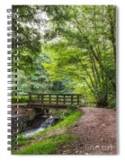 The Bridge Birches Valley Cannock Chase Spiral Notebook