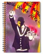 The Butler From The Bottom Spiral Notebook